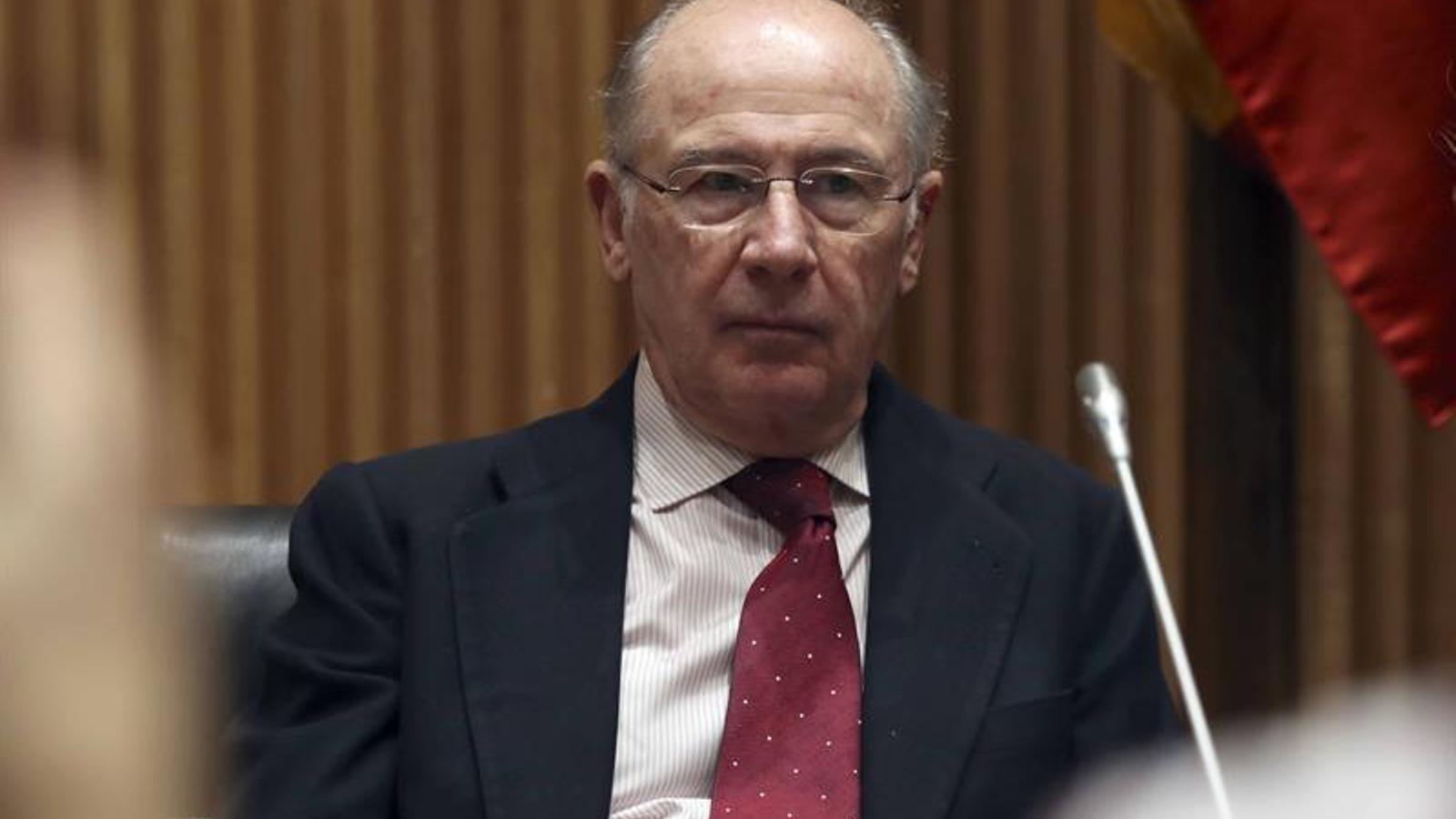 Rato responsabilitza el Banc d'Espanya de la fusió de set caixes que va donar lloc a Bankia