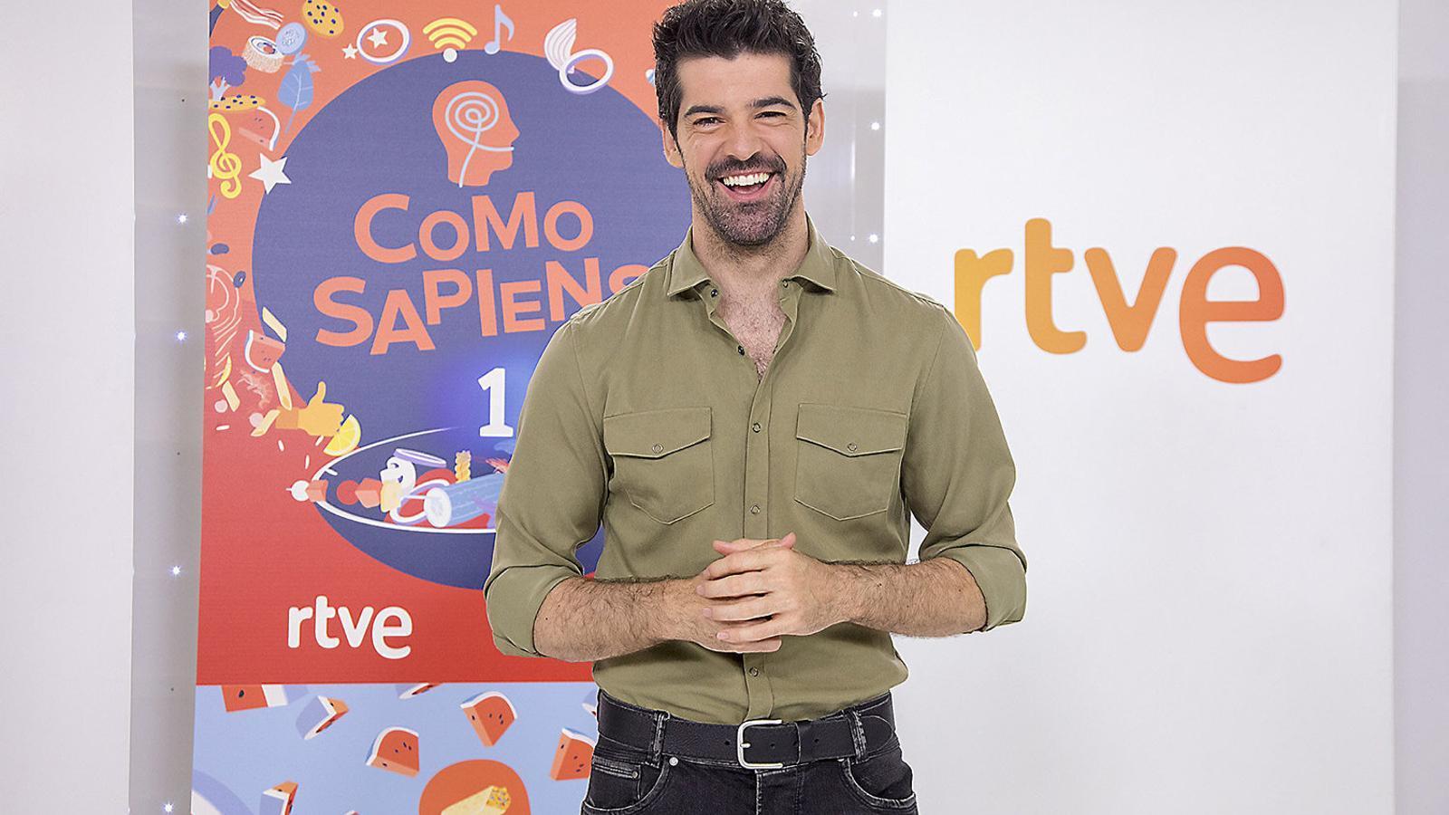 Miguel Ángel Muñoz presentarà Como sapiens, que s'emetrà a La 1 cada migdia a partir d'avui.