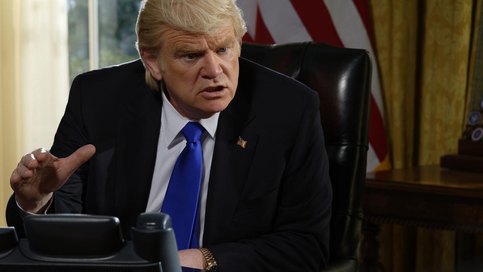 Les sèries planten cara a Donald Trump