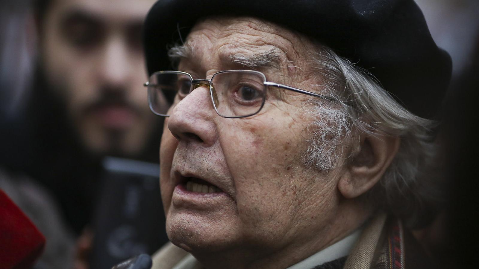 "Adolfo Pérez Esquivel : ""Les lleis que són injustes   Han de ser resistides"" / DAVID FERNÁNDEZ / EFE"