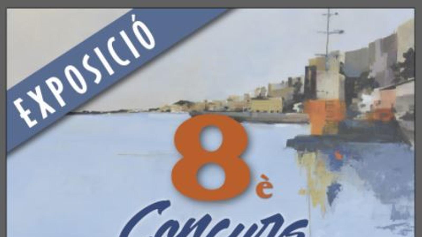 Cartell del VIII Concurs de Pintura i Fotografia