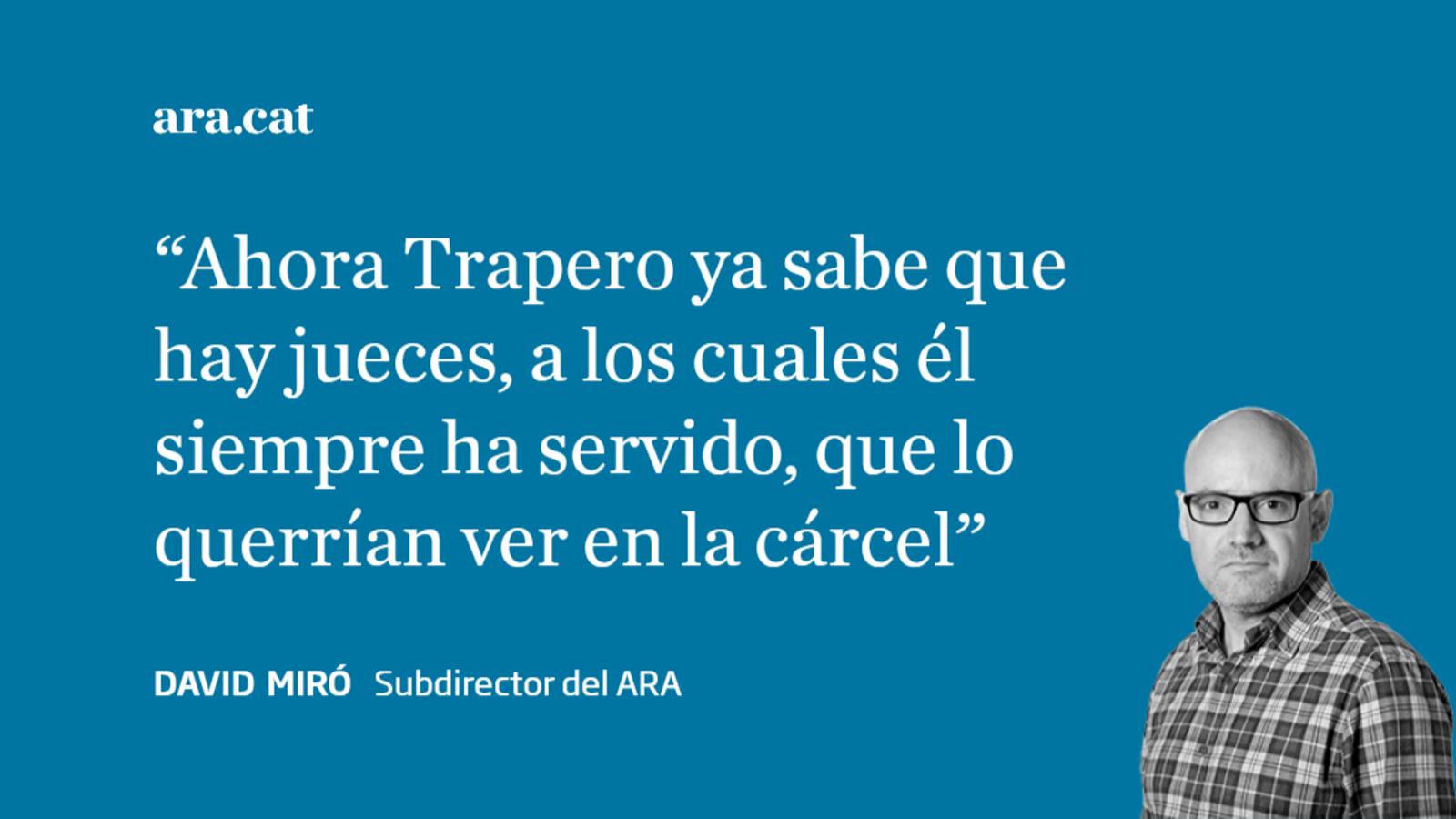 Josep Lluís Trapero, el hombre que concentró las contradicciones del Procés
