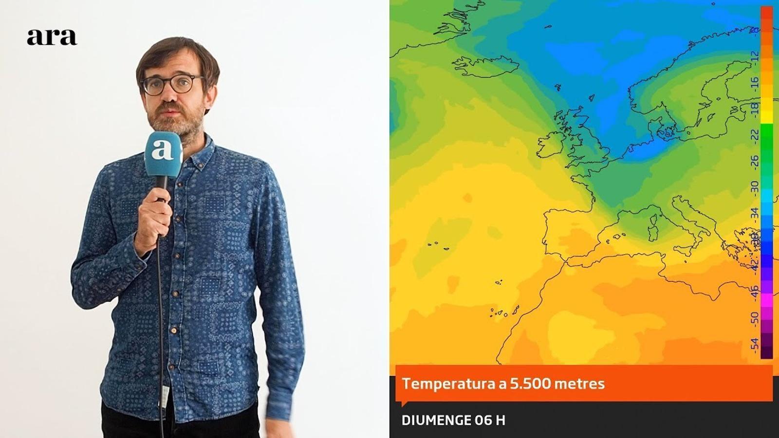 La méteo: regust d'estiu a l'espera d'una altra entrada d'aire fred