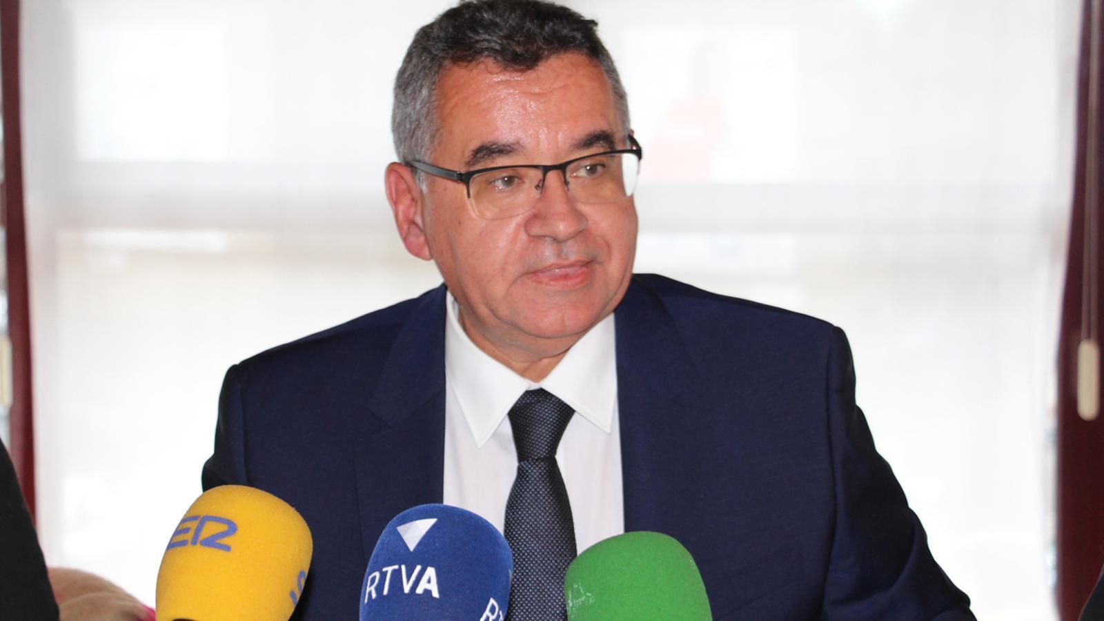 El director de FEDA, Albert Moles. / M. T. (ANA)