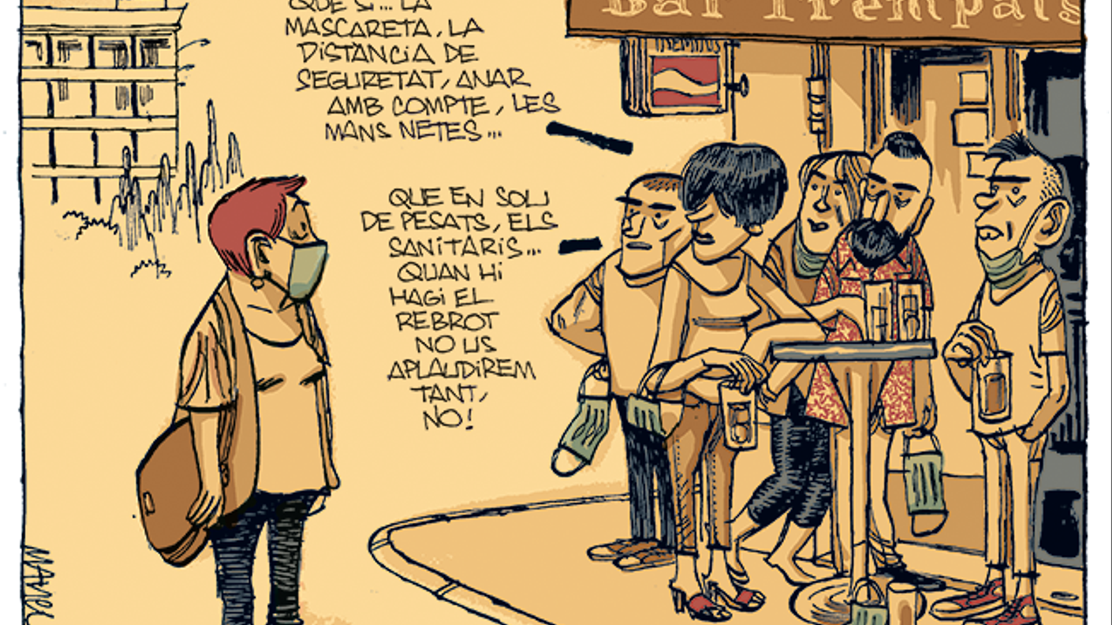 La vinyeta de Manel Fontdevila 12/07/2020