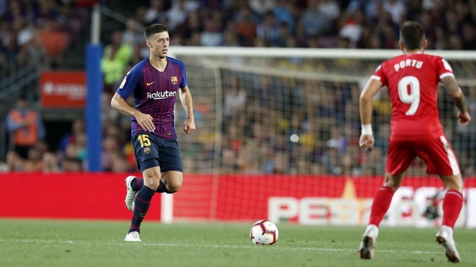 El Barça presentarà al·legacions per l'expulsió de Lenglet