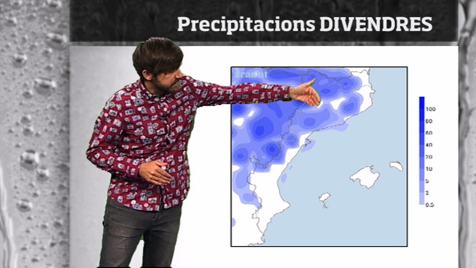 La méteo en 1 minut: divendres variable i amb tempestes