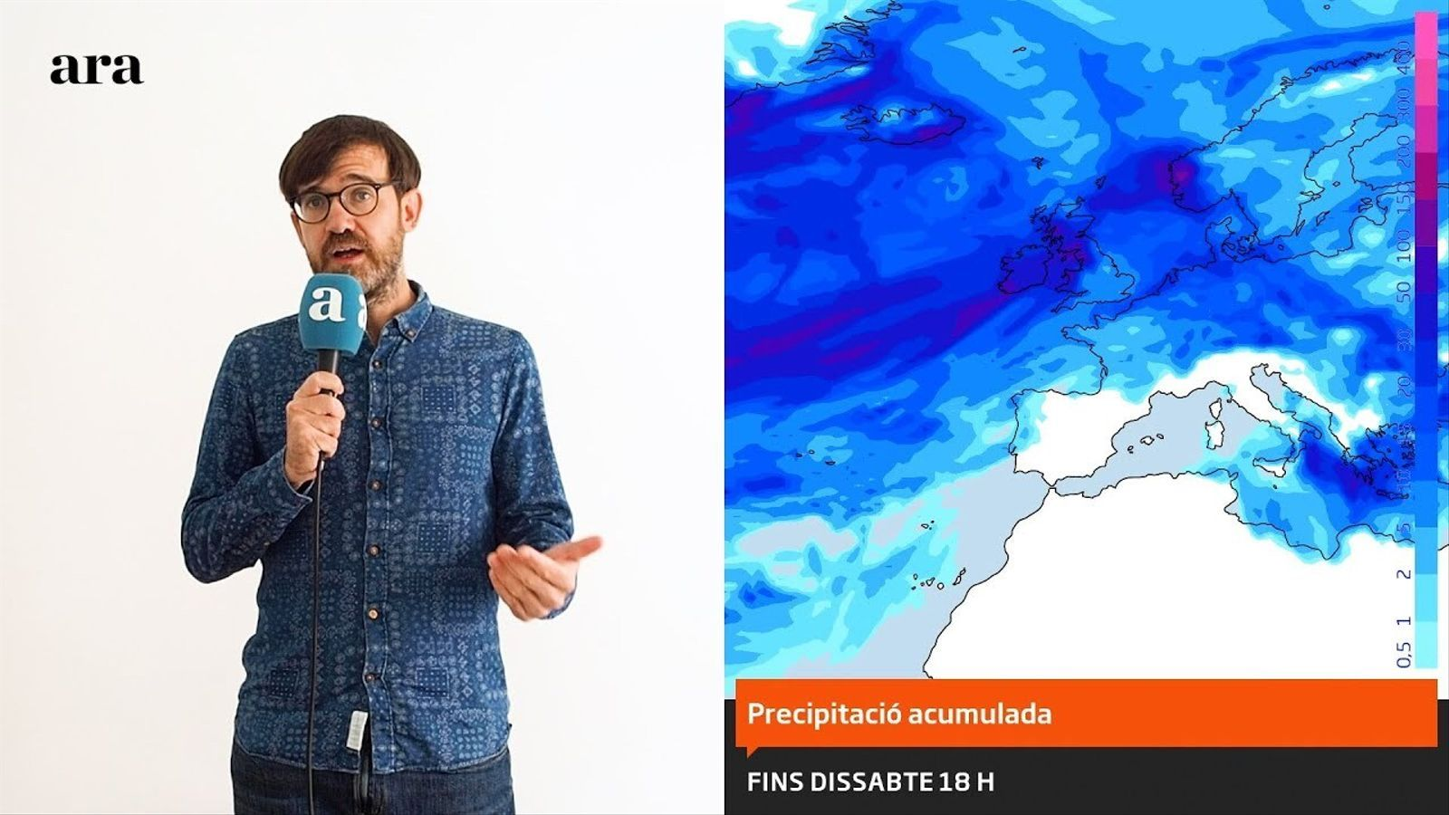 La méteo: migdies de gairebé 25 graus fins la setmana que ve