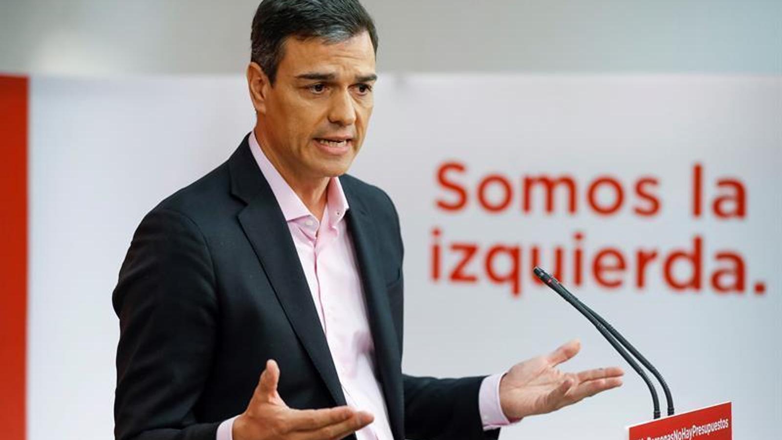 El president del govern espanyol, Pedro Sánchez, en una imatge recent.