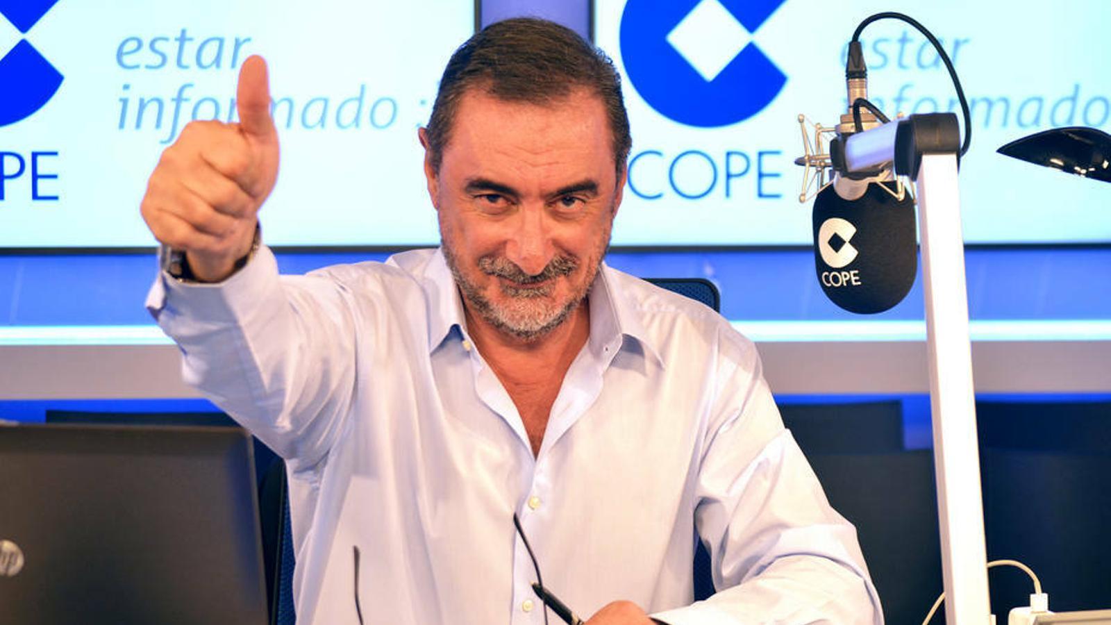 Carlos Herrera, Buenafuente, Évole i Rosalía, entre els guanyadors dels Ondas