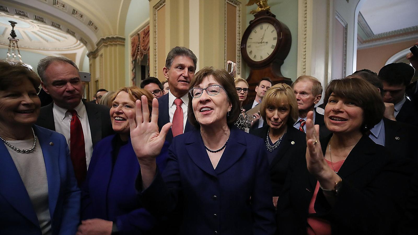 Acord temporal per reobrir el govern dels EUA