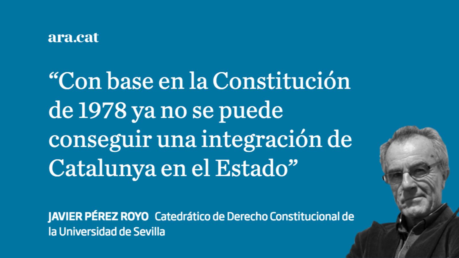 La Constitución Territorial es traicionera