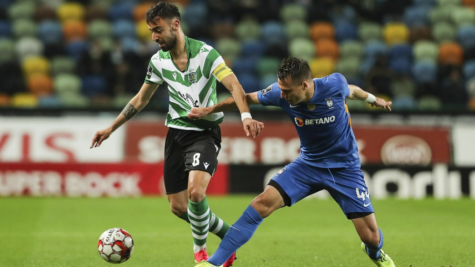 Bruno Fernandes, migcampista de l'Sporting de Portugal