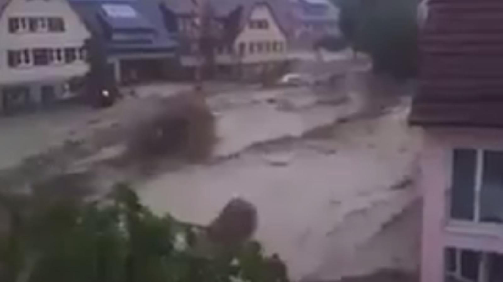 Fortes inundacions al sud d'Alemanya