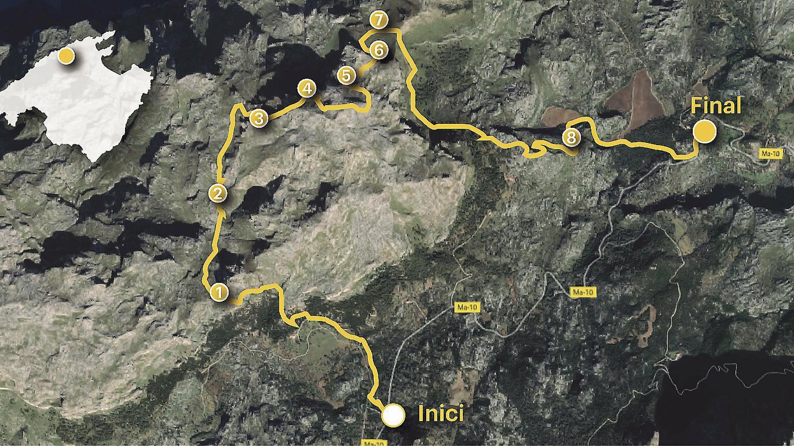 Una ruta pel puig                 Caragoler de Femenia