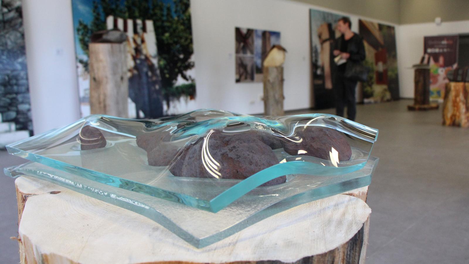 Una mostra de l'exposició d'Ernest Altés. / M. P. (ANA)