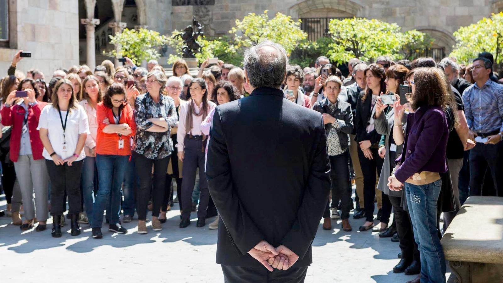 L'anàlisi d'Antoni Bassas: 'El to de la presidència de Torra'