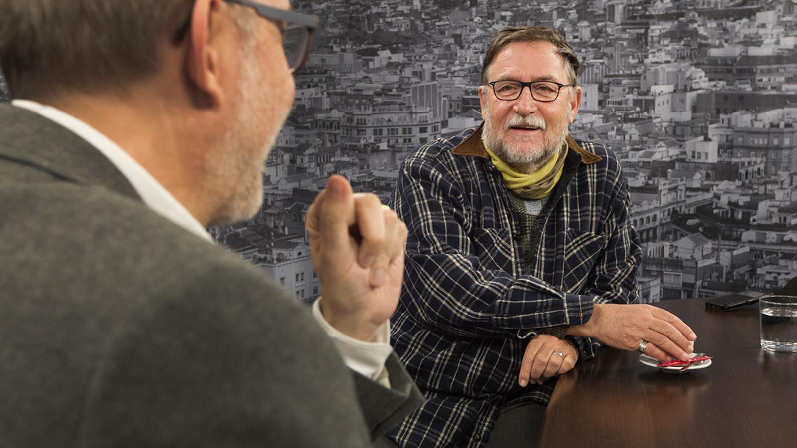 Entrevista d'Antoni Bassas a Martí Boada