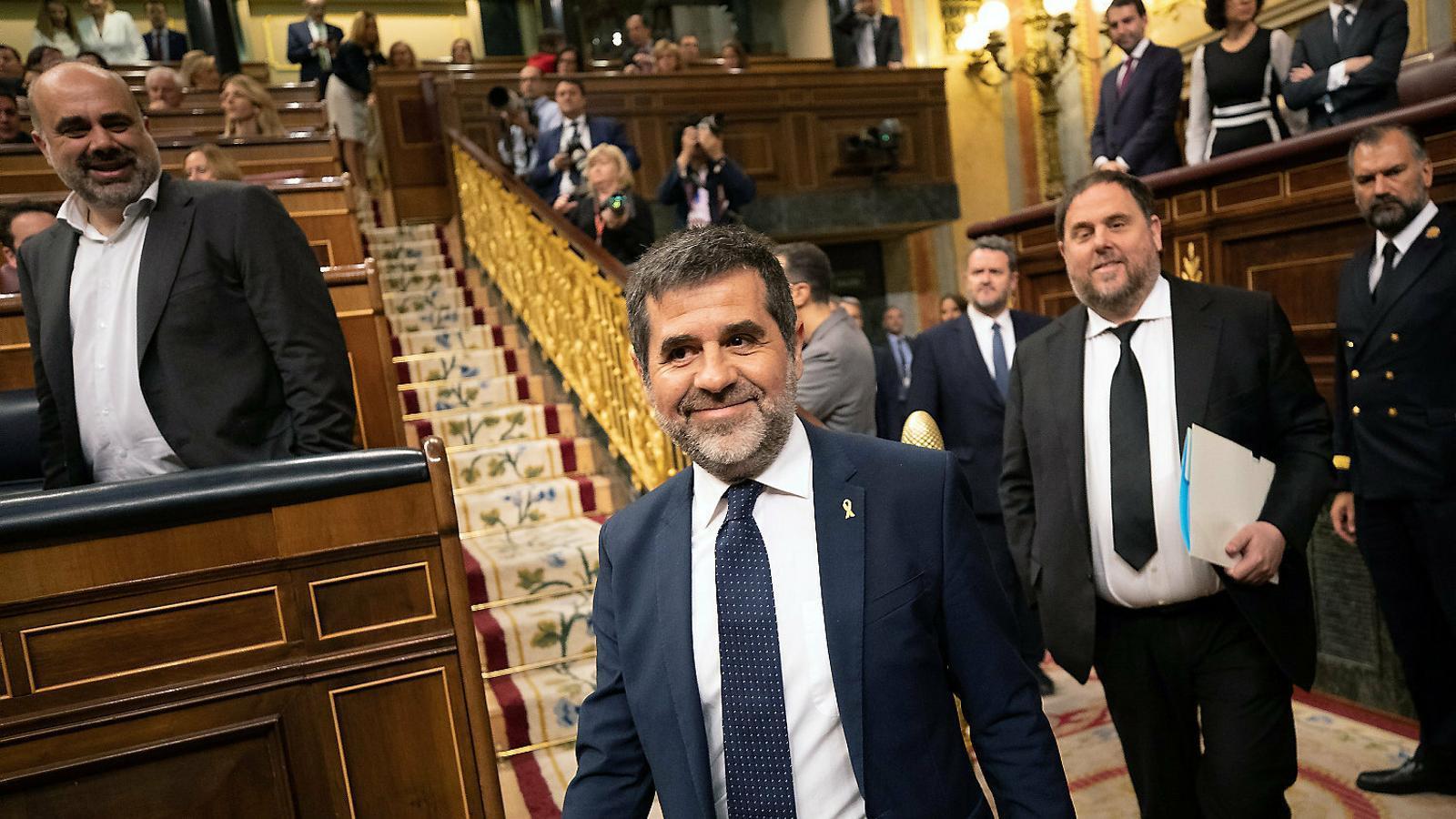 Batet guanya temps tornant la suspensió dels presos al Suprem