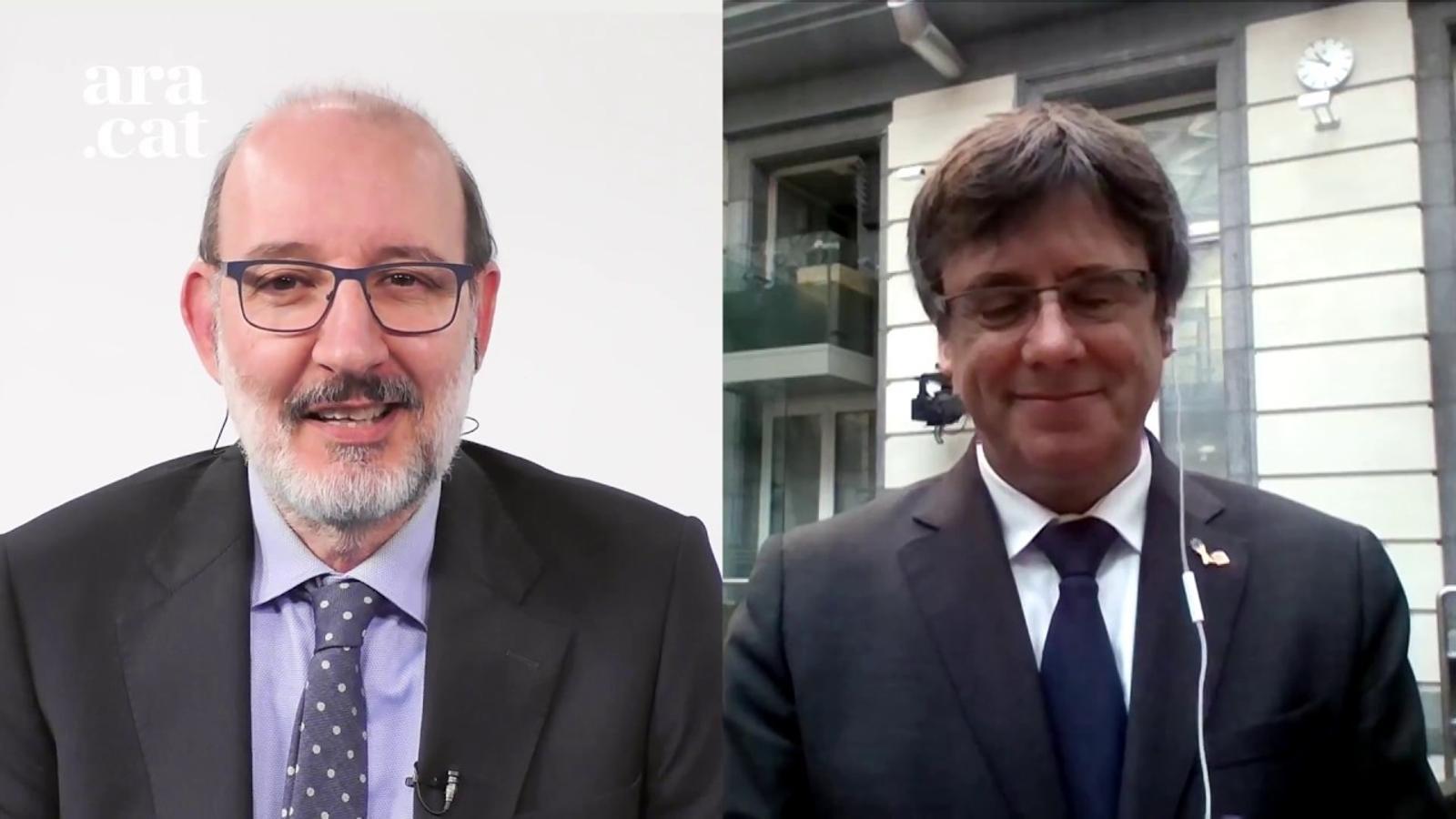 Puigdemont felicita l''Ara Comarques Gironines' pel 5è aniversari