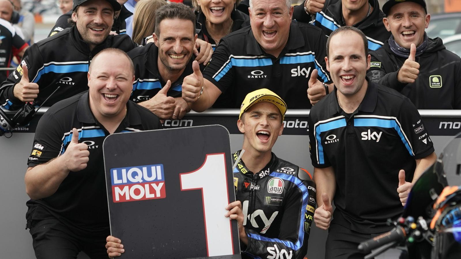 Luca Marini ha guanyat el GP del Japó de Moto2