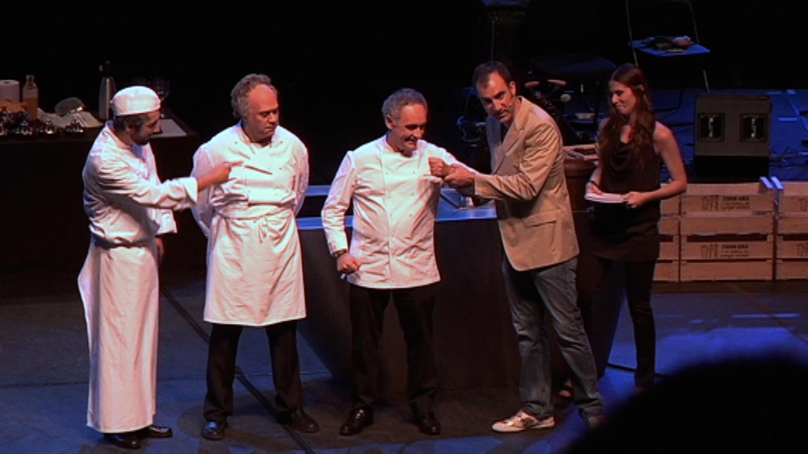 Ferran Adrià, Carme Ruscalleda, els Roca...: cuiners que són una 'Fàbrica de menjar solidari'