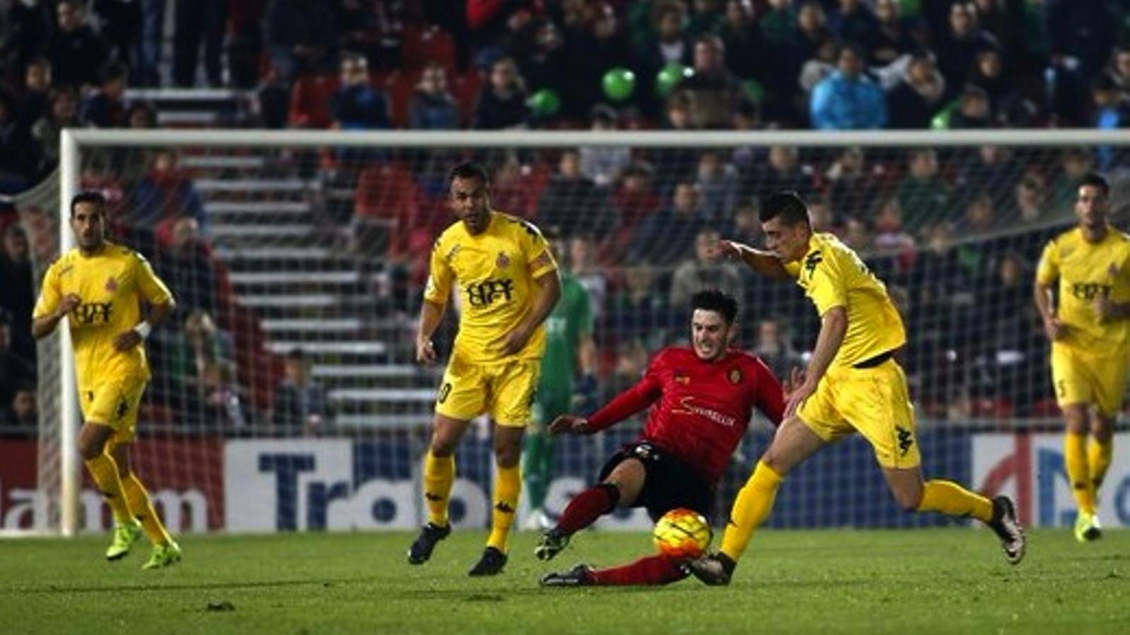El Girona no ha pogut sumar / LFP