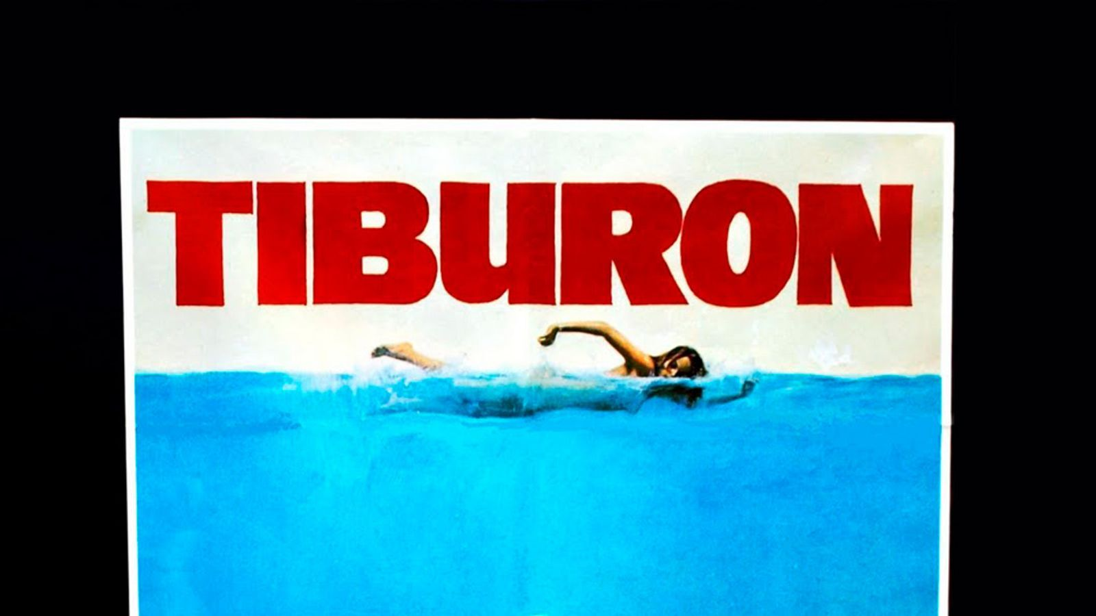 Cartell de la pel·lícula 'Tiburón' (1975).