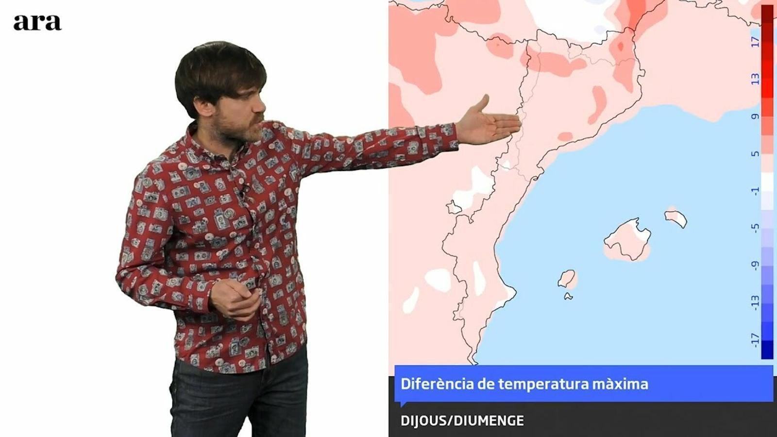 La méteo: nou pic de temperatura al final del cap de setmana