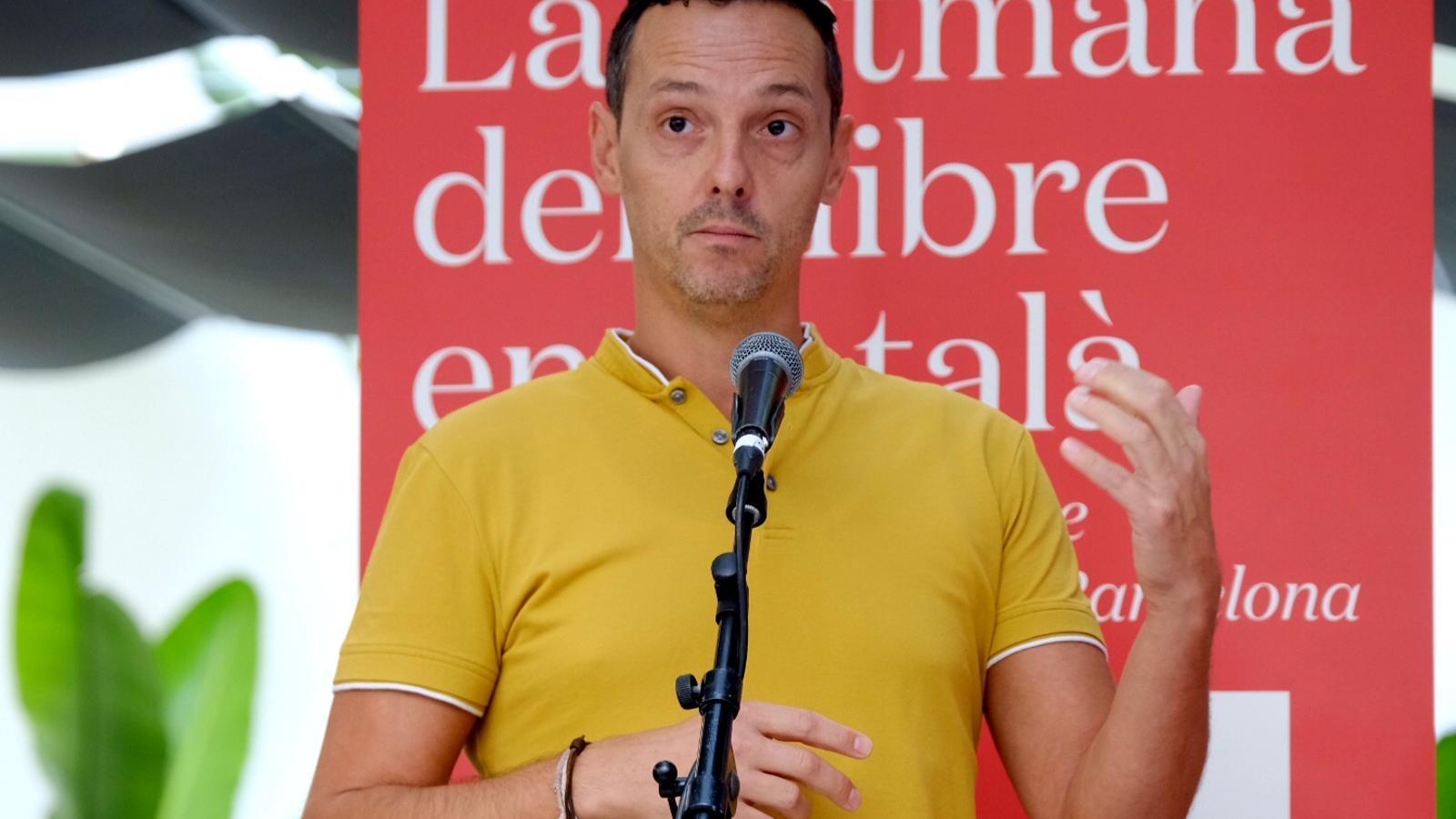 Joan Carles Girbés, nou president de La Setmana del Llibre en Català