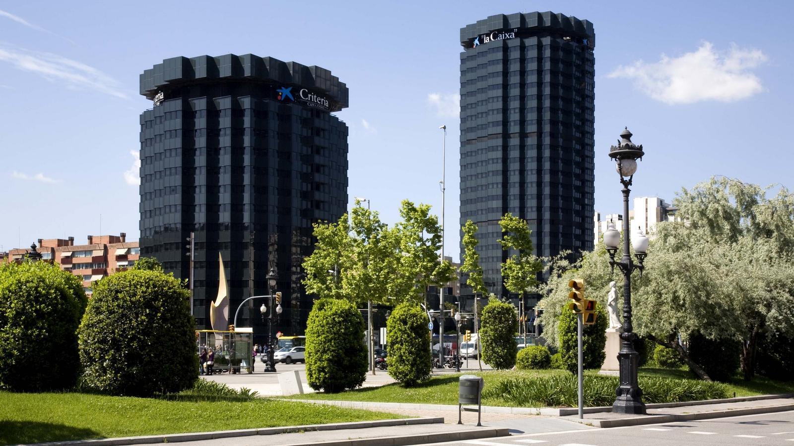 Oficines centrals de La Caixa, a Barcelona