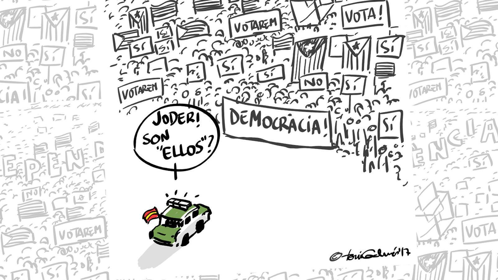 L'anàlisi d'Antoni Bassas: 'Anem a votar en pau'