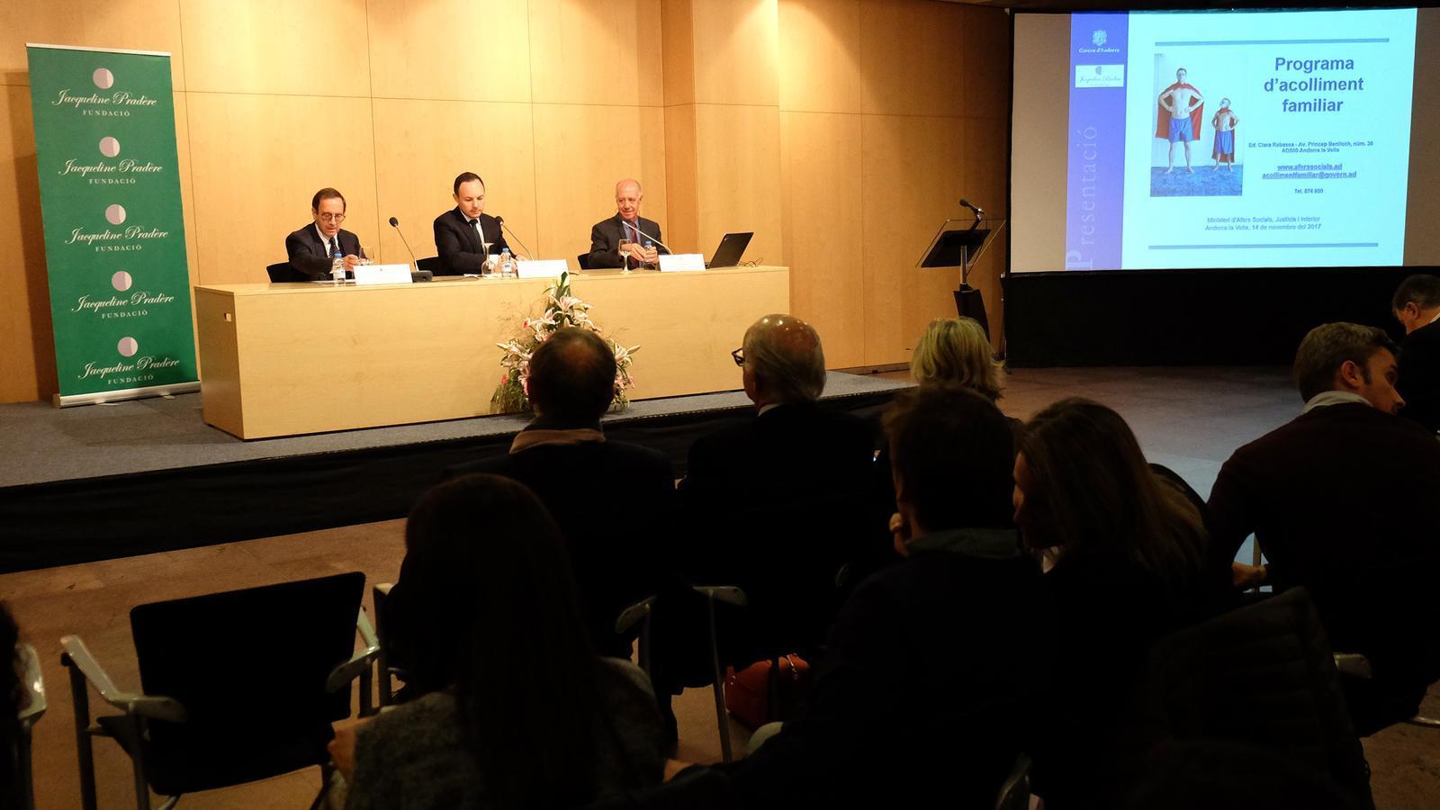 Conferència sobre famílies d'acollida al Centre de Congressos / M. T. (ANA)