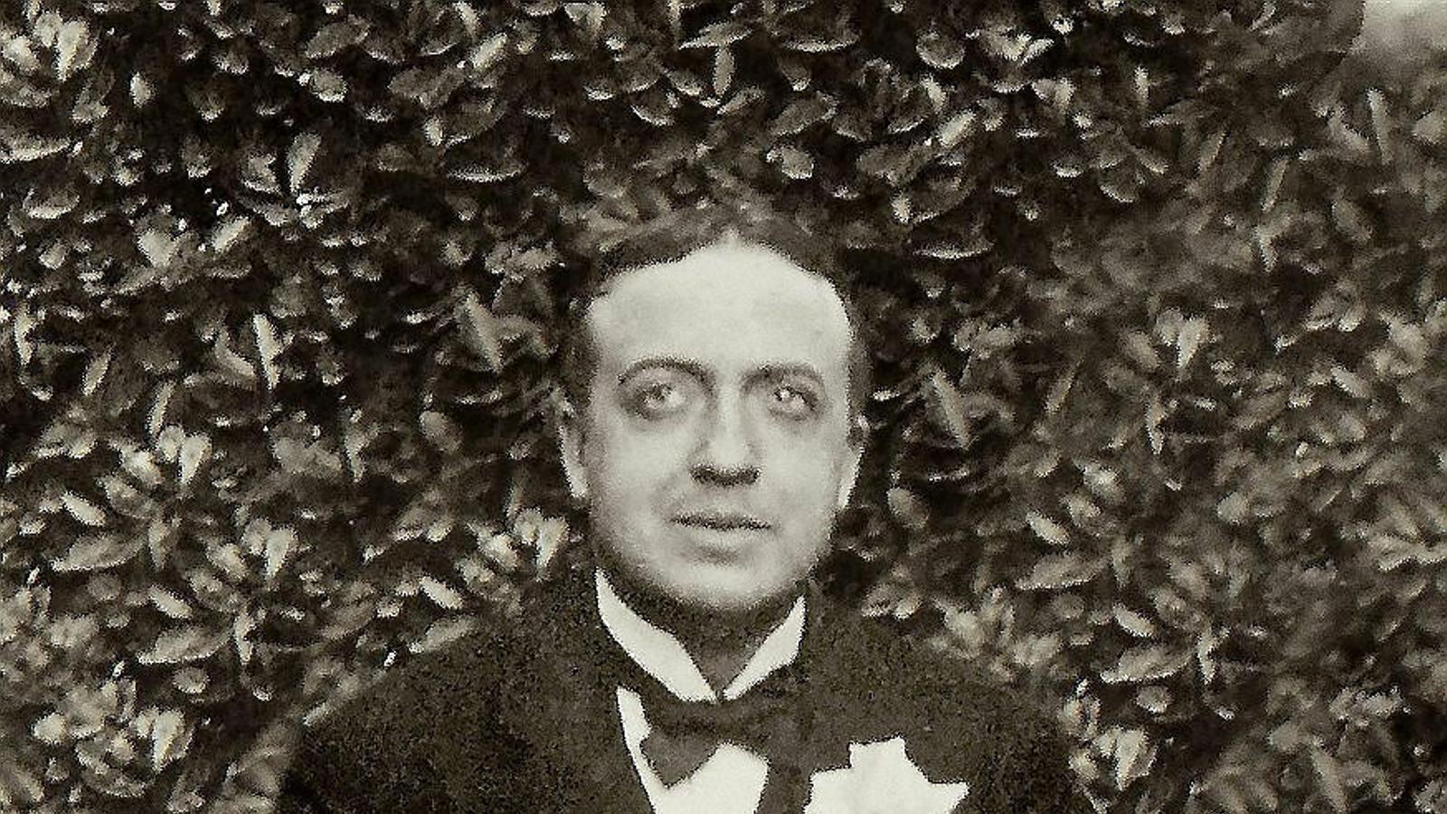El poeta Josep Carner.