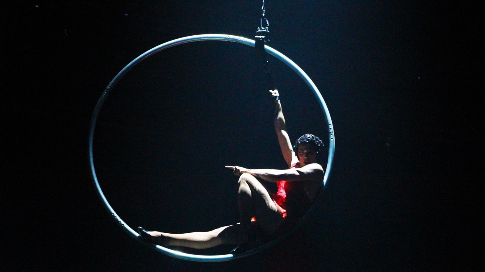 Estrena de Rebel, el nou espectacle del Cirque du Soleil per al juliol. / T. N. (ANA)