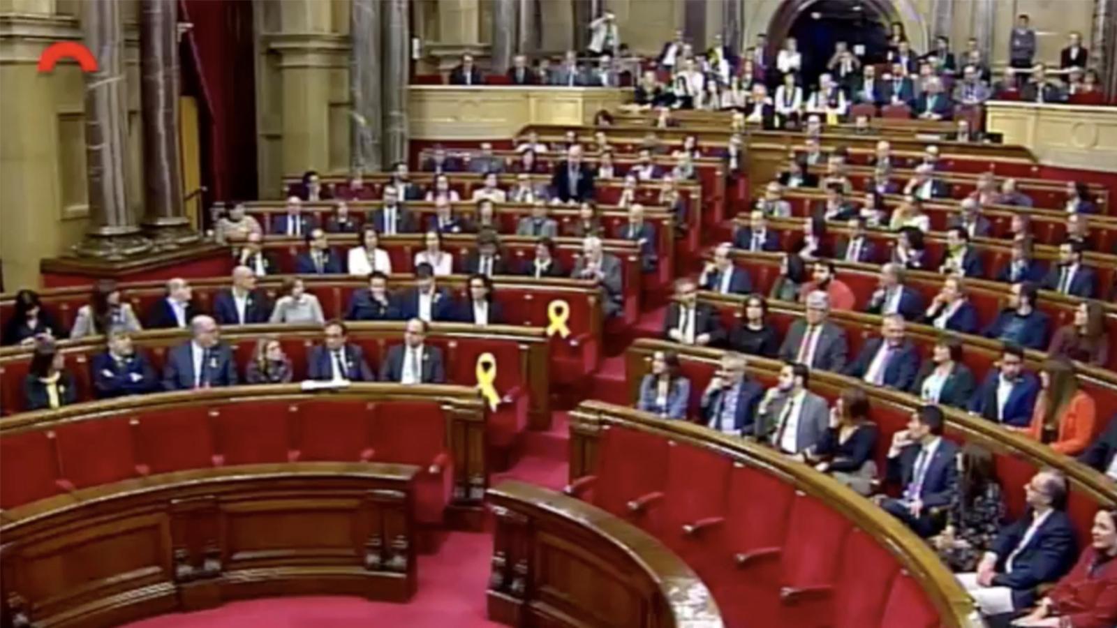 Les votacions al Parlament rebutgen a Jordi Turull com a president de la Generalitat