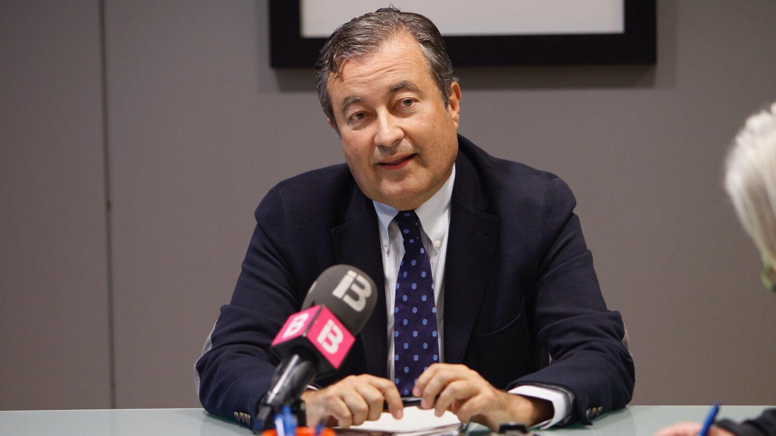 Joan Gual de Torrella, en una imatge d'arxiu