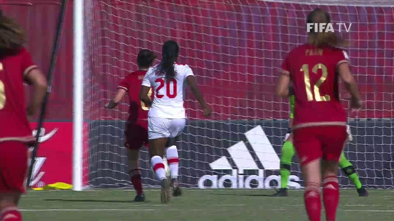 El gol de Mariona Caldentey contra el Canadà.