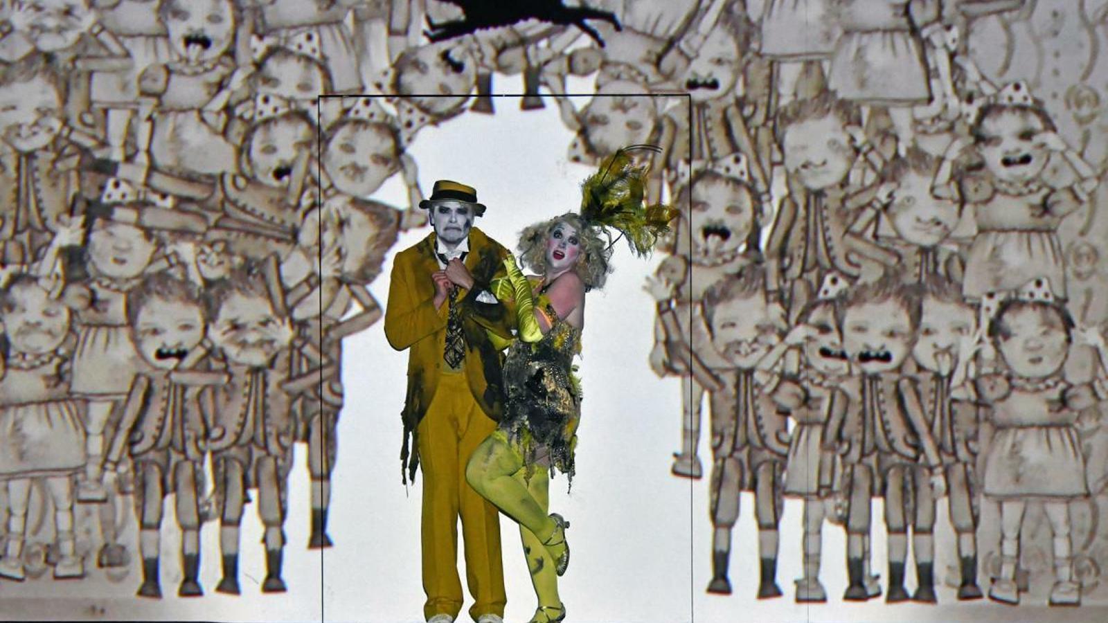 La companyia 1927 i Barrie Kosky van portar 'La flauta màgica' a l'univers de Buster Keaton