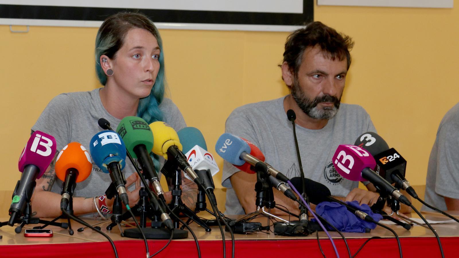 Open Arms denuncia a la fiscalia de Palma la guarda costanera d'Itàlia i Líbia per omissió de socorr