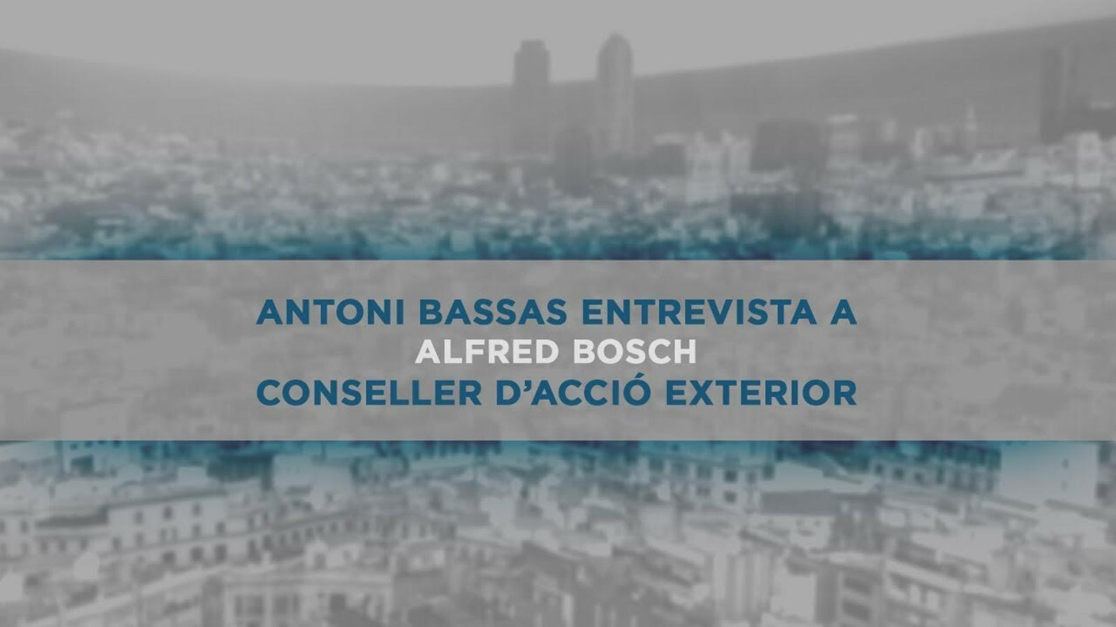 Entrevista d'Antoni Bassas a Alfred Bosch