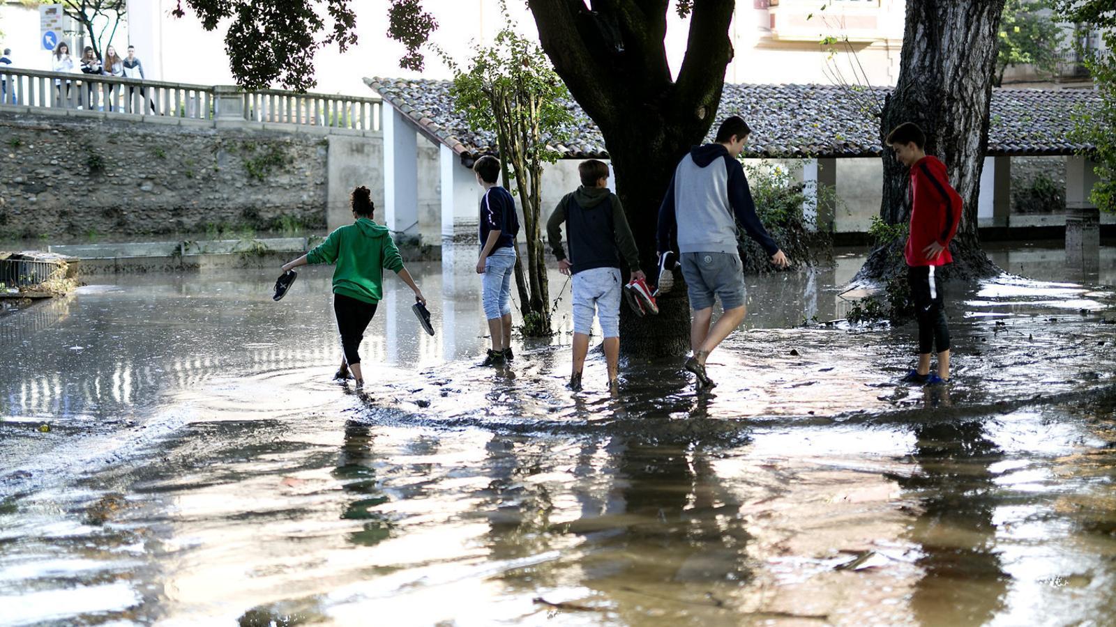 Tercer temporal de pluja en deu dies