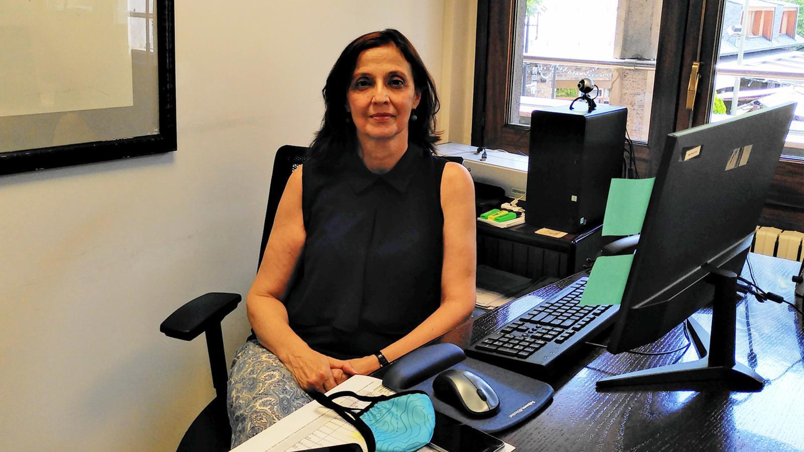 La consellera d'Educació de l'Ambaixada espanyola, Yolanda Varela