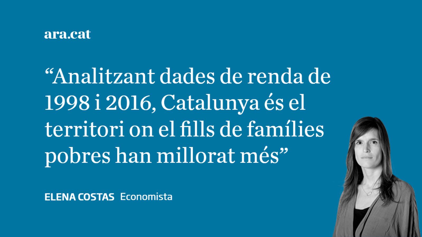 El 'somni català' i la igualtat d'oportunitats
