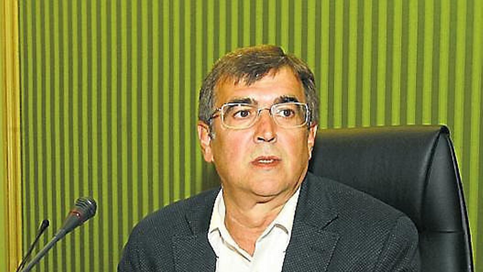 El senador socialista, Francesc Antich, va evitar votar el 155.