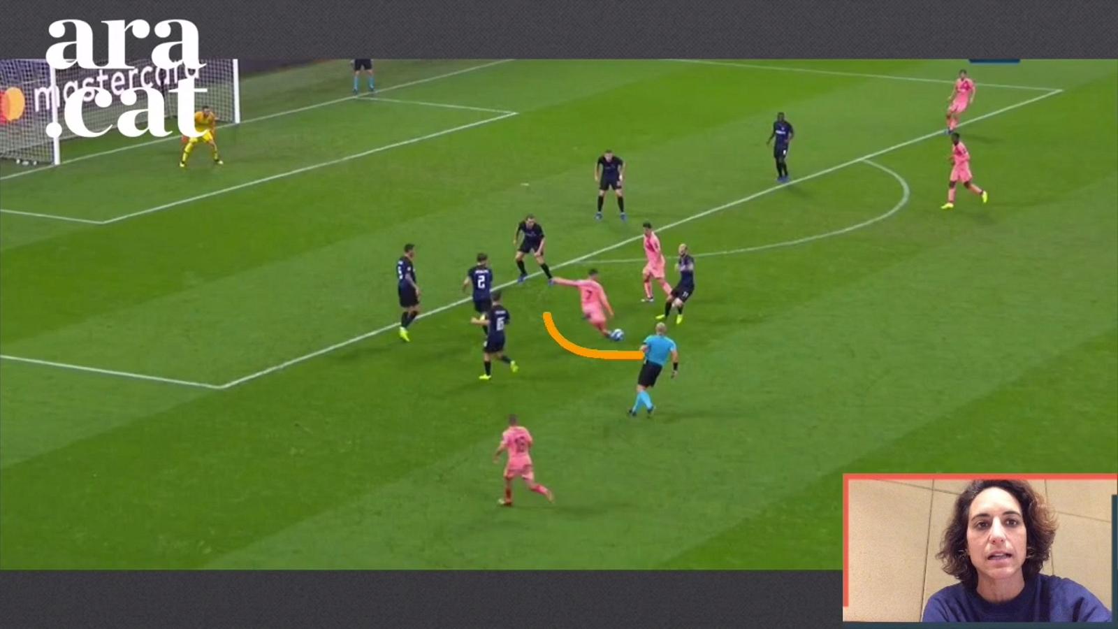 L'anàlisi de l'Inter-Barça en vídeo: Coutinho i un atac posicional molt més agressiu