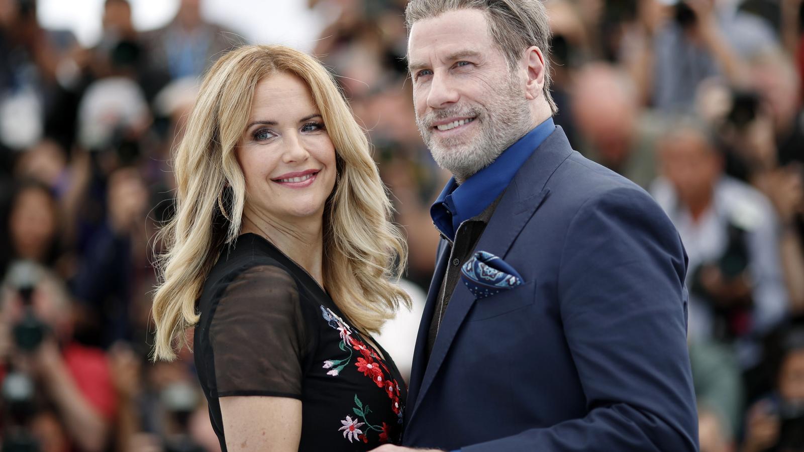 Kelly Preston amb el seu marit en una imatge d'arxiu