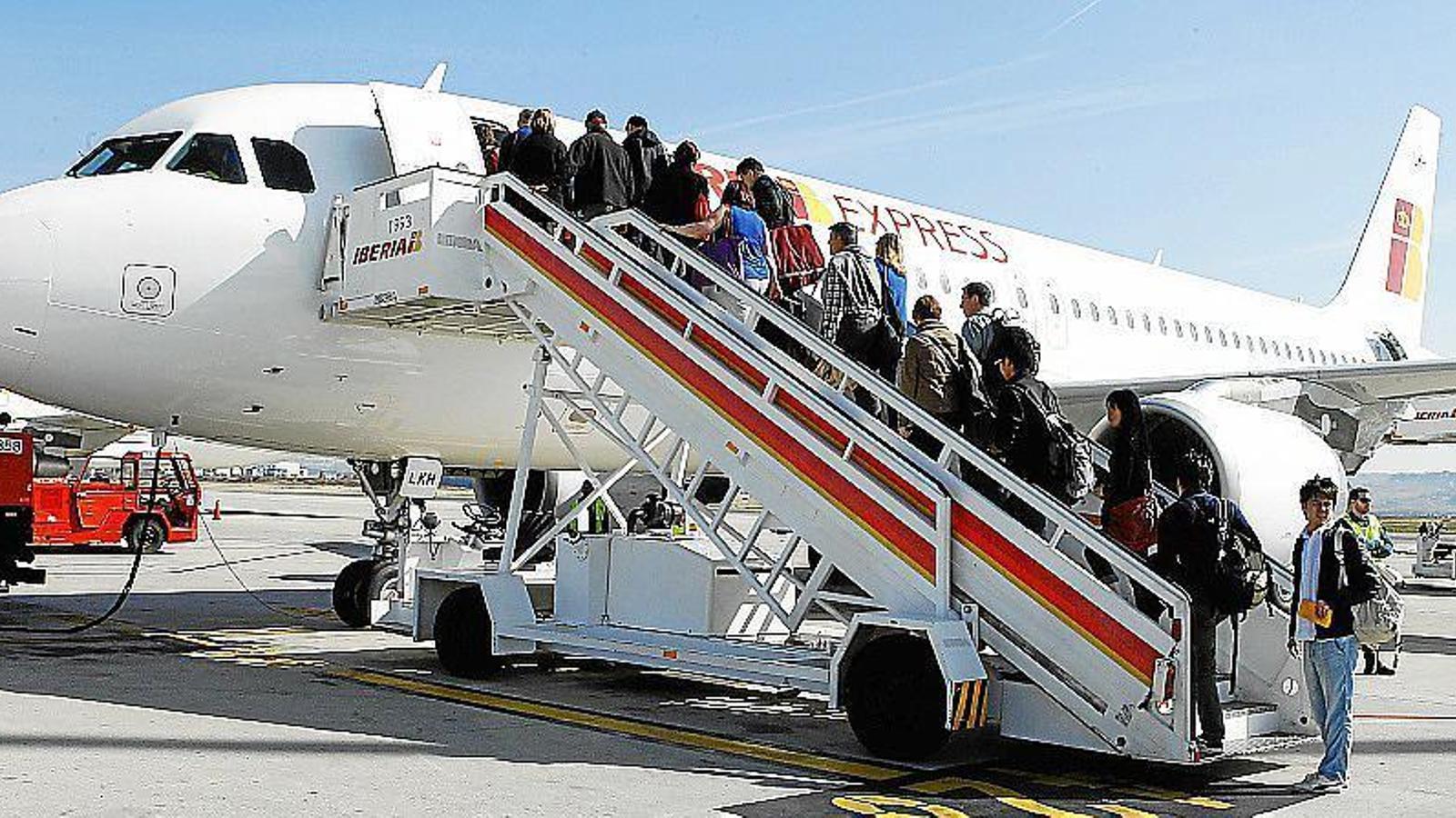 La companyia ofereix cincs vols diaris entre Palma i Madrid.