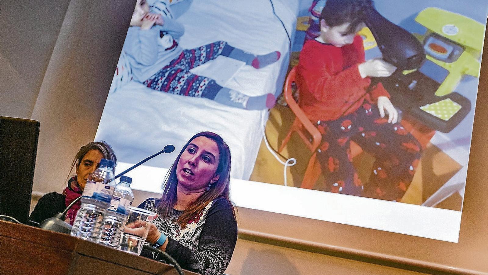 La nova eina va presentar-se en el marc d'unes jornades sobre com es posa la tecnologia al servei dels infants amb discapacitat.