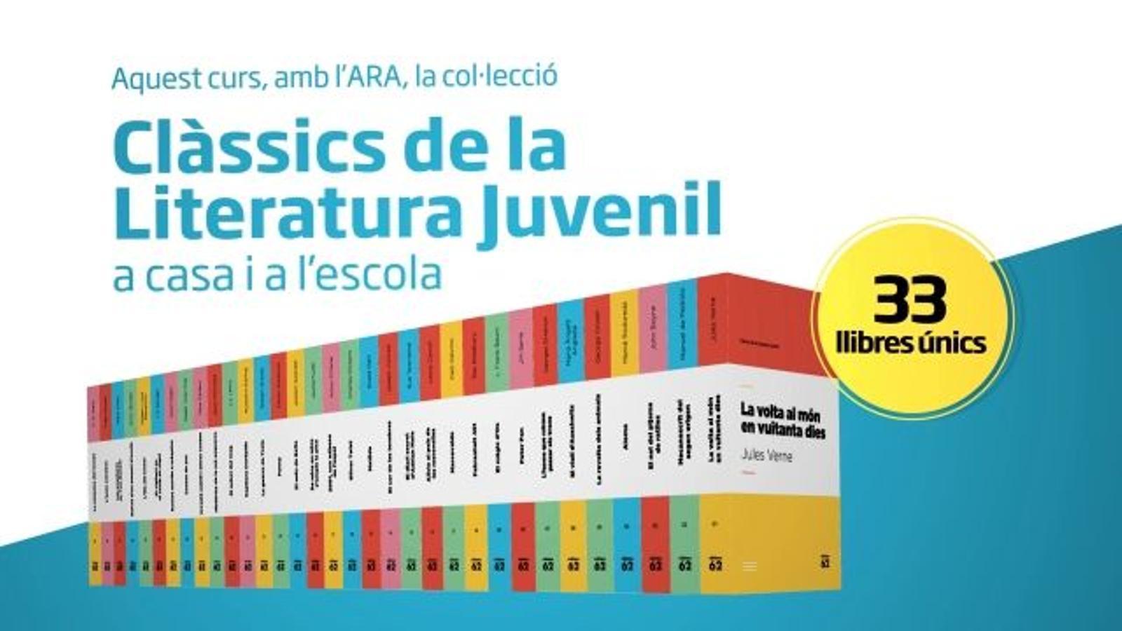 Aquest curs amb l'ARA, Clàssics de la Literatura Juvenil